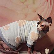 """Одежда для питомцев ручной работы. Ярмарка Мастеров - ручная работа Одежда для кошек """"Сладкие сны"""". Handmade."""