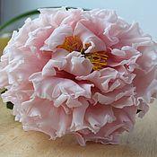 Цветы и флористика handmade. Livemaster - original item peonies bouquet peonies flowers from polymer clay.. Handmade.