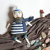 Куклы и игрушки ручной работы. Ярмарка Мастеров - ручная работа Моряк  дальнего плавания и маяк. Handmade.