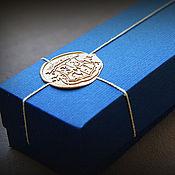 Сувениры и подарки handmade. Livemaster - original item A personalized box for a magic wand. Handmade.