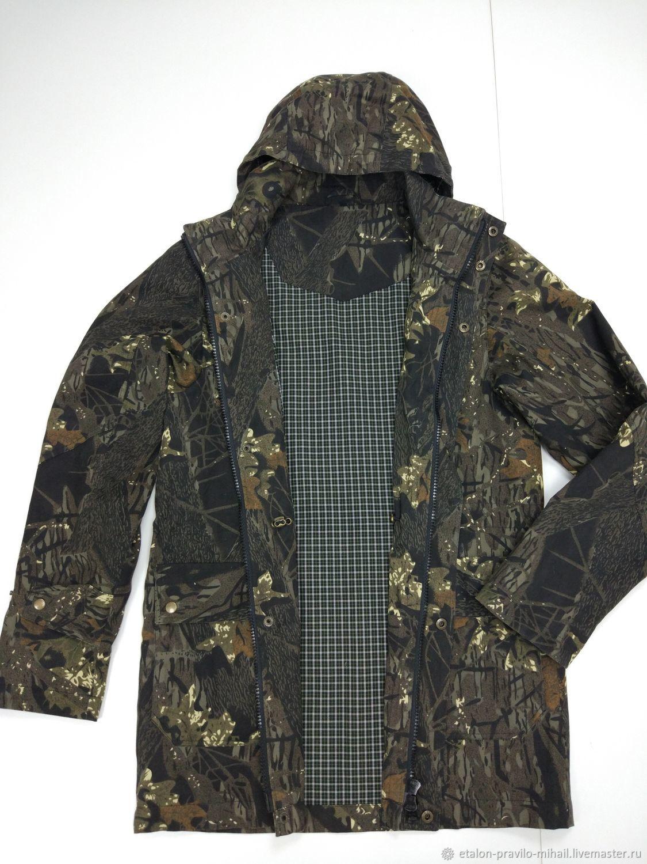 Мужская куртка демисезон защитной расцветки, Верхняя одежда мужская, Москва,  Фото №1