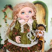 Куклы и игрушки ручной работы. Ярмарка Мастеров - ручная работа Даша. Коллекционная текстильная кукла.. Handmade.