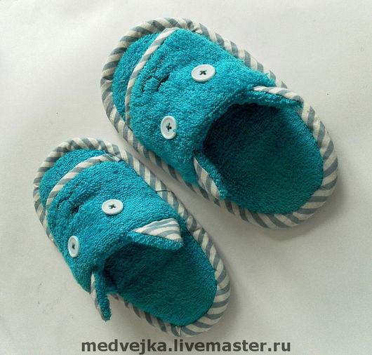 Детская обувь ручной работы. Ярмарка Мастеров - ручная работа. Купить Тапочки для котёнка. Handmade. Детские тапочки, детское, синтепон