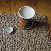 Для дома и интерьера ручной работы. Ярмарка Мастеров - ручная работа Джутовый коврик. Handmade.