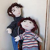 """Куклы и игрушки ручной работы. Ярмарка Мастеров - ручная работа Театральная портретная кукла на руку """"Аспирант"""". Handmade."""