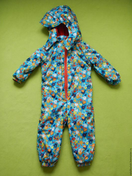 Одежда для девочек, ручной работы. Ярмарка Мастеров - ручная работа. Купить Комбинезон утепленный. Handmade. Комбинированный, комбинезон детский