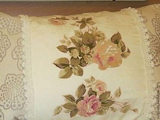 Текстиль, ковры ручной работы. Ярмарка Мастеров - ручная работа. Купить Наволочки для подушек. Handmade. Бежевый, подушка на диван