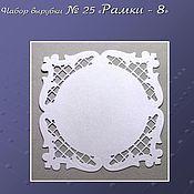Материалы для творчества handmade. Livemaster - original item set cutting no. 25 frame - 8. Handmade.