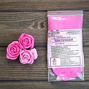 """Глина ручной работы. Ярмарка Мастеров - ручная работа Полимерная глина """"Цветочная"""" Цвет Розовый.25гр. Handmade."""
