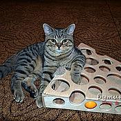 Для домашних животных, ручной работы. Ярмарка Мастеров - ручная работа Игра для кошки Сырница 2, + видео, кота, котят,. Handmade.
