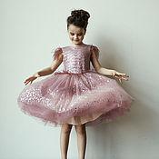 """Платья ручной работы. Ярмарка Мастеров - ручная работа Нарядное платье """"Pink Glam"""". Handmade."""