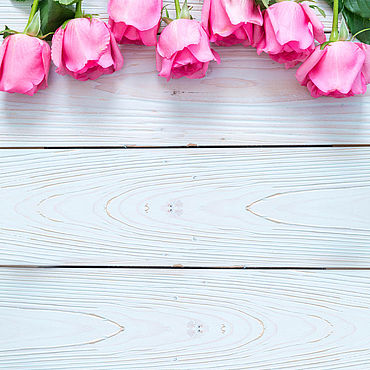 Материалы для творчества ручной работы. Ярмарка Мастеров - ручная работа Фотофон виниловый Розовые розы. Handmade.