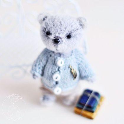 Мишки Тедди ручной работы. Ярмарка Мастеров - ручная работа. Купить Тедди Мишка Потап. Handmade. Мишка тедди, миник