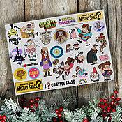 Материалы для творчества handmade. Livemaster - original item Stickers