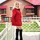 """Верхняя одежда ручной работы. Пальто """"Красное вино"""". Интересная вещица. Интернет-магазин Ярмарка Мастеров. Пальто валяное"""