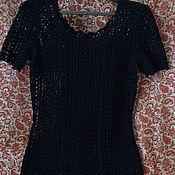 """Одежда ручной работы. Ярмарка Мастеров - ручная работа Вязанное платье """"Южная ночь"""". Handmade."""