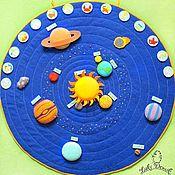 Куклы и игрушки handmade. Livemaster - original item Educational game Space. Handmade.