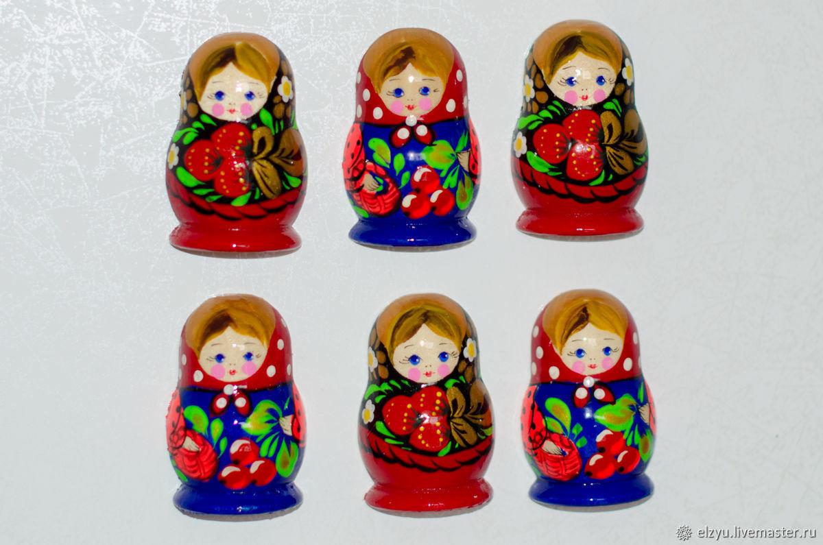 Matryoshka magnet, Magnets, Nizhny Novgorod,  Фото №1