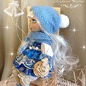 Куклы и игрушки ручной работы. Ярмарка Мастеров - ручная работа Снежанка, текстильная куколка. Handmade.