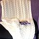 Текстиль, ковры ручной работы. Ярмарка Мастеров - ручная работа. Купить детский плед HAPPY DAY. Handmade. Белый