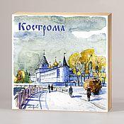 Сувениры и подарки handmade. Livemaster - original item Souvenir magnets Kostroma. Handmade.
