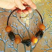 """Украшения handmade. Livemaster - original item """"Каменное сердце"""" чокер. Handmade."""