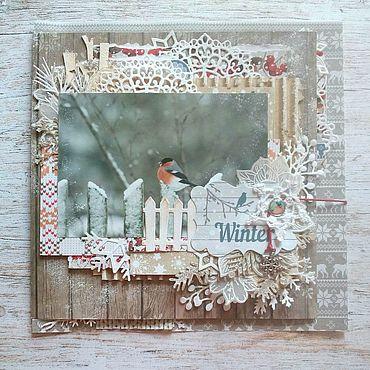 Для дома и интерьера ручной работы. Ярмарка Мастеров - ручная работа Зимние кружева. Handmade.