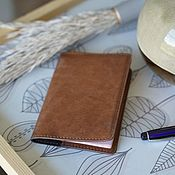 Сумки и аксессуары handmade. Livemaster - original item Passport cover genuine leather. Handmade.