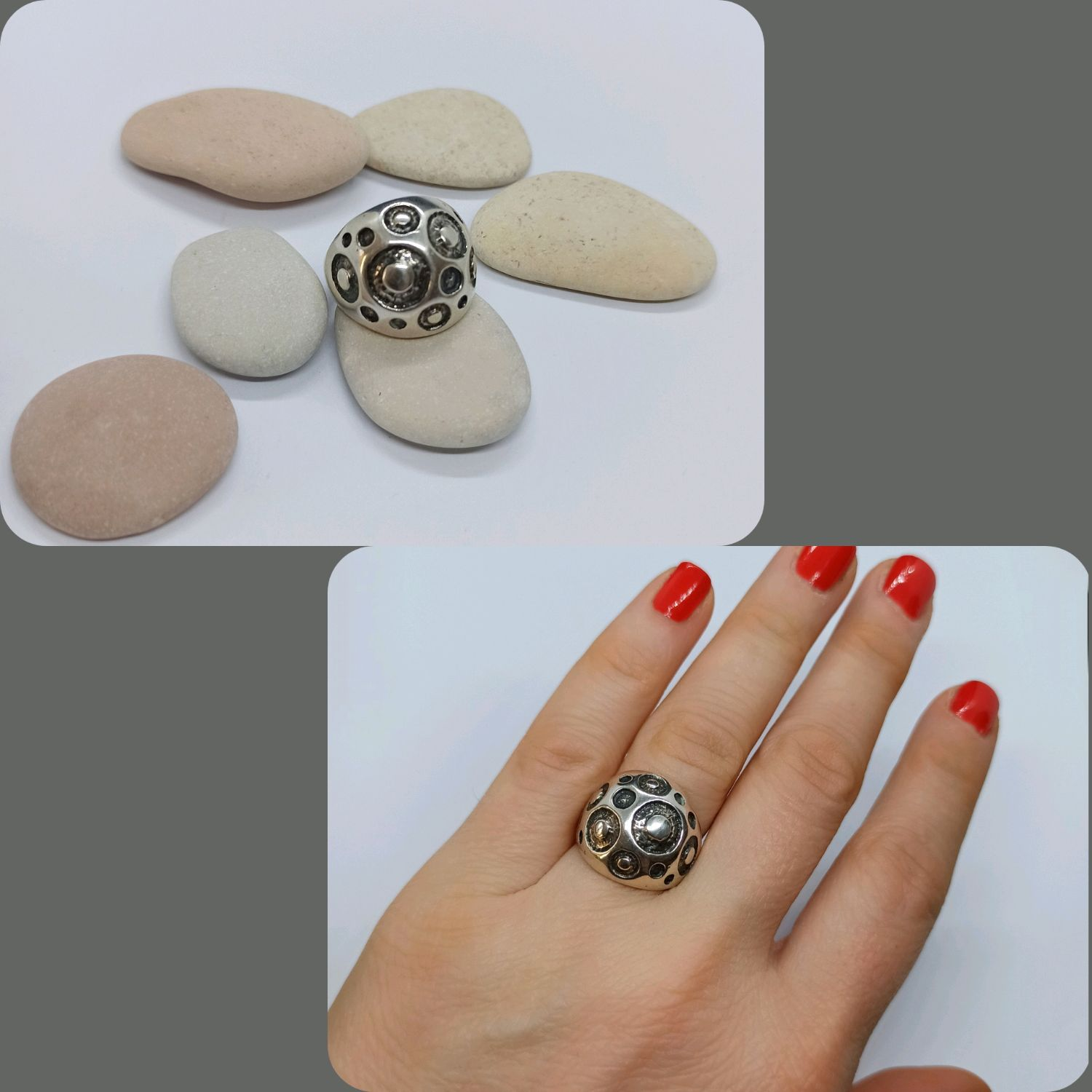 Ring Craters 925 sterling Silver, Rings, Turin,  Фото №1