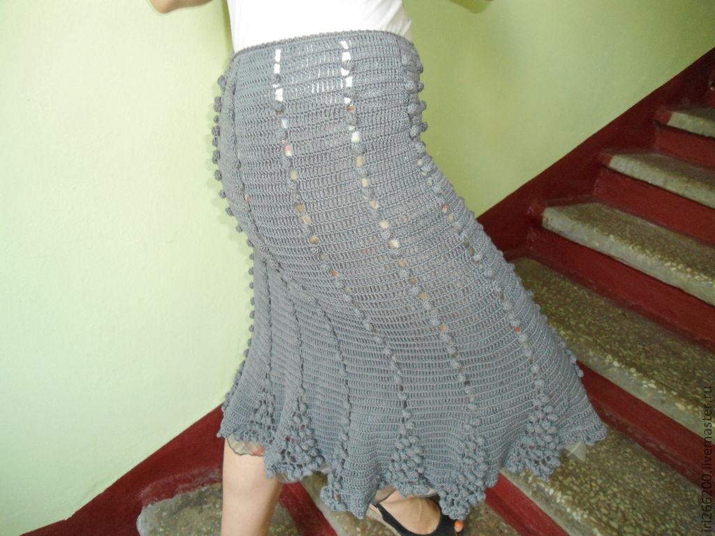 Ярмарка мастеров юбки вязаные