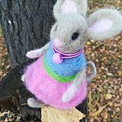 Мини фигурки и статуэтки ручной работы. Ярмарка Мастеров - ручная работа Миниатюрные игрушки: Игрушки: мышь. Handmade.