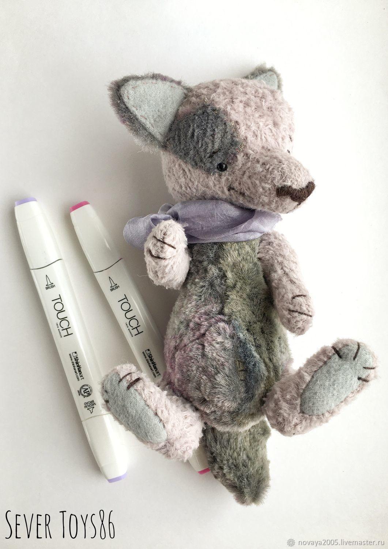 Игрушка волк, Тедди Зверята, Ханты-Мансийск,  Фото №1