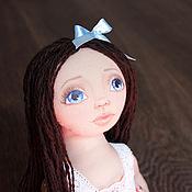 Куклы и игрушки ручной работы. Ярмарка Мастеров - ручная работа Фиалка - авторская текстильная кукла. Handmade.