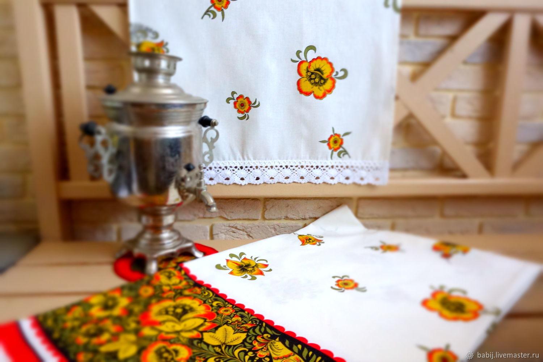 Set of linen ' Firebird', Tablecloths, Kostroma,  Фото №1