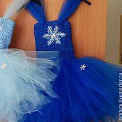 Работы для детей, ручной работы. Ярмарка Мастеров - ручная работа Платье туту, костюм снежинки. Handmade.