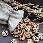 Фен-шуй и эзотерика ручной работы. Ярмарка Мастеров - ручная работа Руны из дерева. в ассортименте. Handmade.