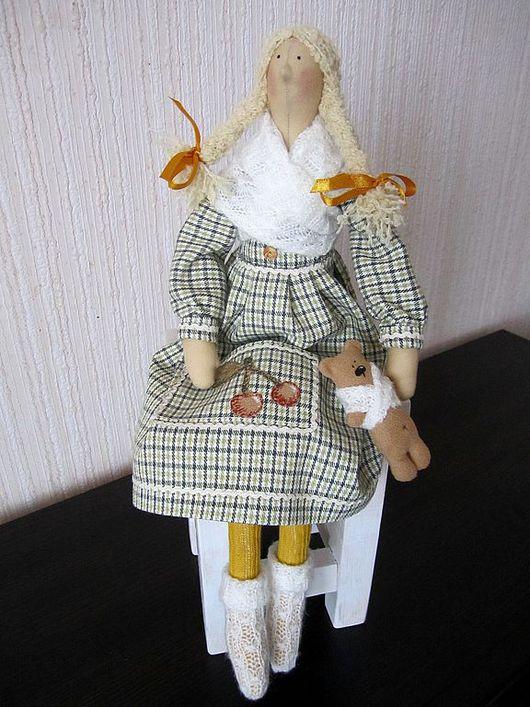 Куклы Тильды ручной работы. Ярмарка Мастеров - ручная работа. Купить В ожидании весны. Handmade. Текстильная кукла, фея
