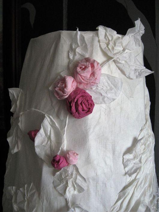 Освещение ручной работы. Ярмарка Мастеров - ручная работа. Купить Весеннее цветение. Handmade. Белый, цветы ручной работы, подарок