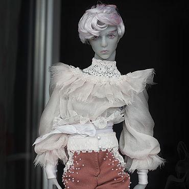 Куклы и игрушки ручной работы. Ярмарка Мастеров - ручная работа Иолант Кукла БЖД, авторская шарнирная кукла бжд из полиуретана. Handmade.