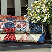 Для дома и интерьера ручной работы. Ярмарка Мастеров - ручная работа Лоскутное одеяло Русское бохо пэчворк. Handmade.