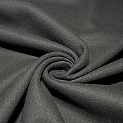 Материалы для творчества ручной работы. Ярмарка Мастеров - ручная работа Трикотаж с кашемиром  шерстяной CНLOE  темно-серый. Handmade.