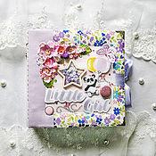 Канцелярские товары handmade. Livemaster - original item Photo albums: Photo album for girl