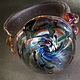 Кольца ручной работы. Ярмарка Мастеров - ручная работа. Купить Электрический Цветок Кольцо:). Handmade. Разноцветный, авторское кольцо