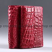 Сумки и аксессуары handmade. Livemaster - original item Wallet crocodile leather IMA0123H5. Handmade.