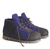 Обувь ручной работы handmade. Livemaster - original item Men`s felt boots, Russian size 44.5 in stock. Handmade.