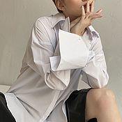 Одежда handmade. Livemaster - original item Shirt with button cuffs. Handmade.
