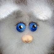 Куклы и игрушки ручной работы. Ярмарка Мастеров - ручная работа Заяц-пушистик из мохера. Handmade.