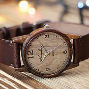 Украшения handmade. Livemaster - original item Wooden watches, women`s watches, walnut, 01A3530WW. Handmade.