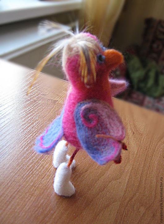 Игрушки животные, ручной работы. Ярмарка Мастеров - ручная работа. Купить Птичка Агафья. Handmade. Птичка, игрушка в подарок