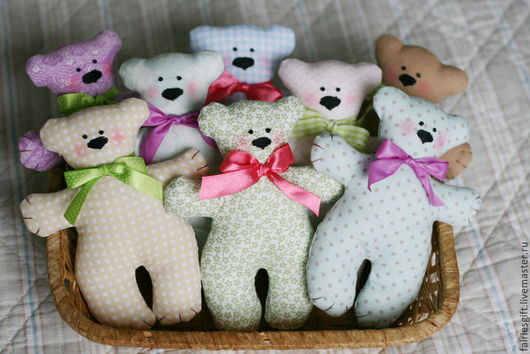 Куклы Тильды ручной работы. Ярмарка Мастеров - ручная работа. Купить Мишки. Handmade. Мишка, новогодний подарок, малышам